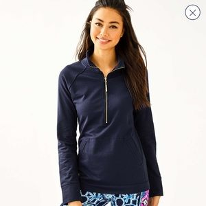 NEW Lilly Pulitzer Skipper Solid Popover🎀